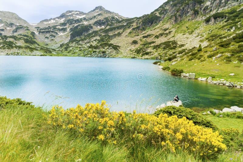 Λίμνη Bezbog στο βουνό Pirin, Βουλγαρία στοκ εικόνες