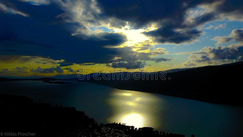 Λίμνη Biel στοκ φωτογραφία με δικαίωμα ελεύθερης χρήσης