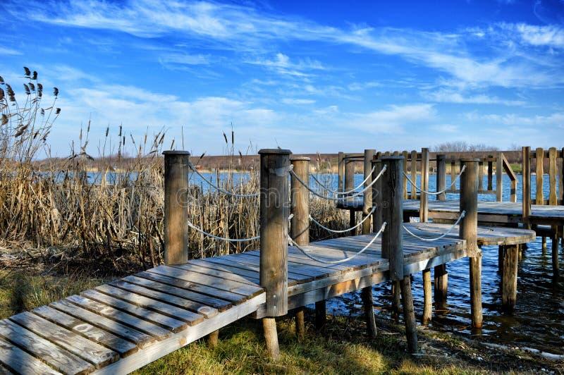 Λίμνη Borkovac, καλή θέση στοκ φωτογραφίες