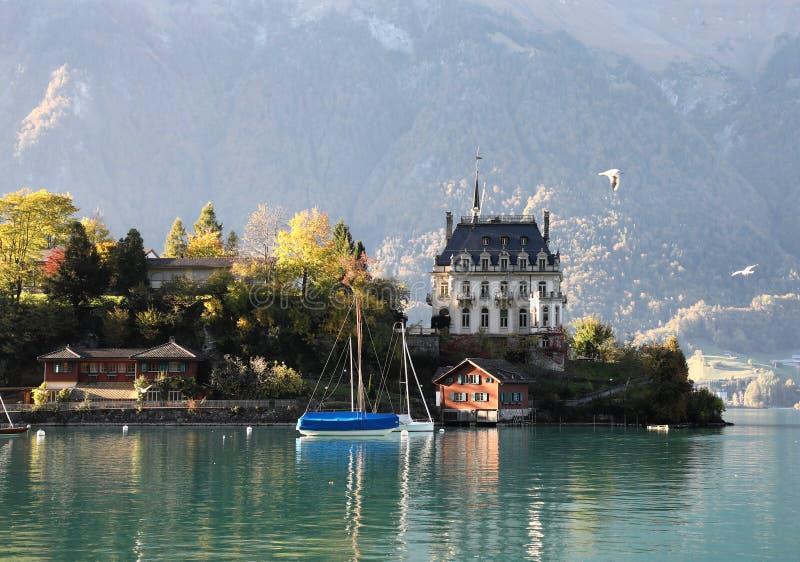 Λίμνη Brienz, Ελβετία στοκ εικόνες