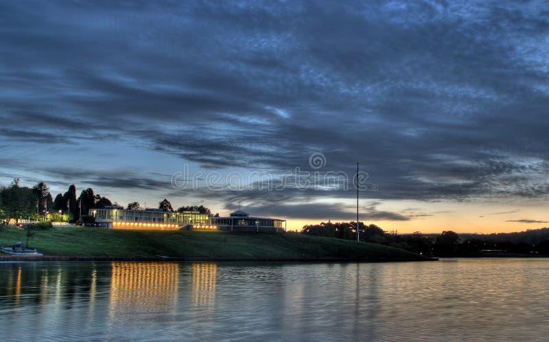 λίμνη burley griffin στοκ εικόνα με δικαίωμα ελεύθερης χρήσης