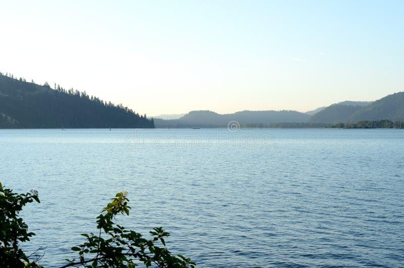 """Λίμνη Chatcolet Coeur δ """"Alene στοκ φωτογραφία με δικαίωμα ελεύθερης χρήσης"""
