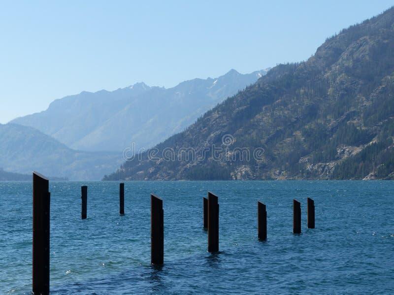 Λίμνη Chelan σε Stehekin, WA στοκ εικόνα