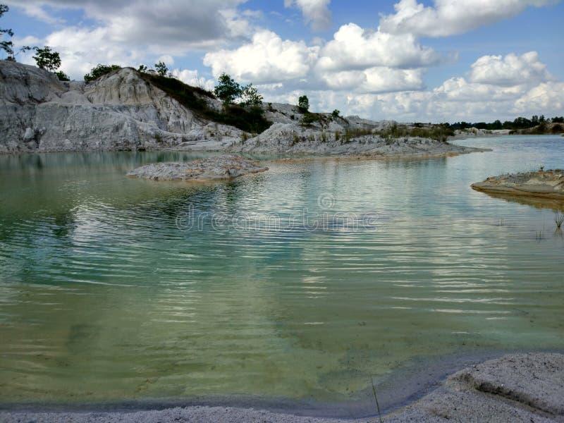 Λίμνη Colorfull στοκ εικόνες