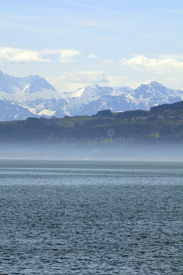 λίμνη constance στοκ εικόνες