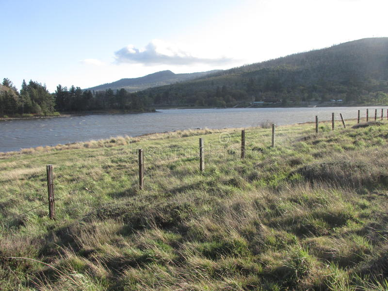 Λίμνη Cuyamaca στοκ εικόνες με δικαίωμα ελεύθερης χρήσης