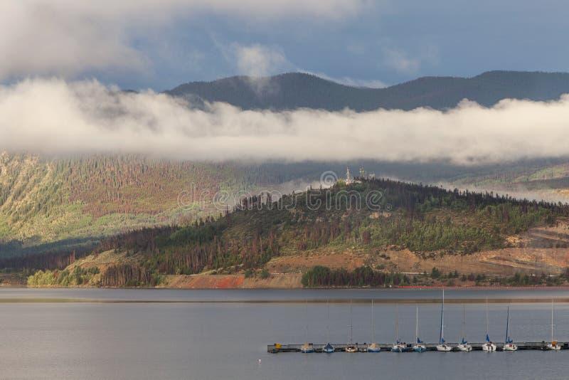 Λίμνη Dillon στο Κολοράντο στοκ εικόνες