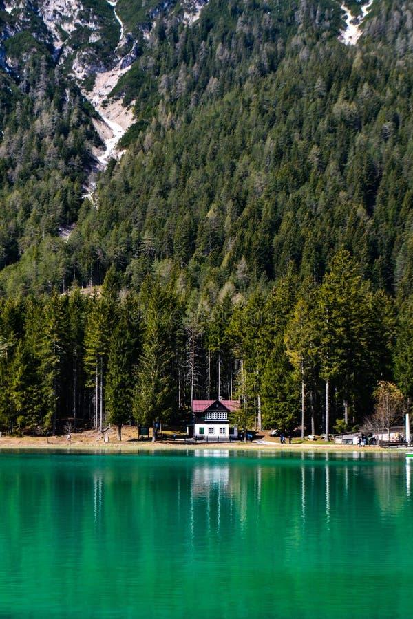 Λίμνη Dobbiaco στοκ φωτογραφία