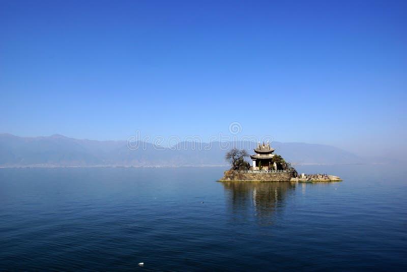 Λίμνη Erhai, Δάλι, επαρχία Yunnan, Κίνα στοκ φωτογραφία