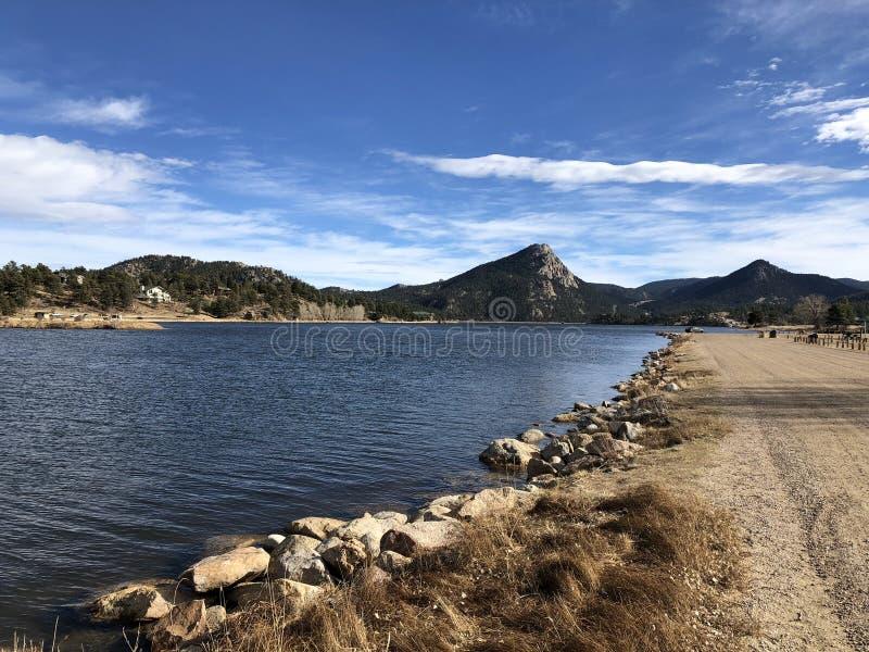 Λίμνη Estes στο Κολοράντο στοκ εικόνες
