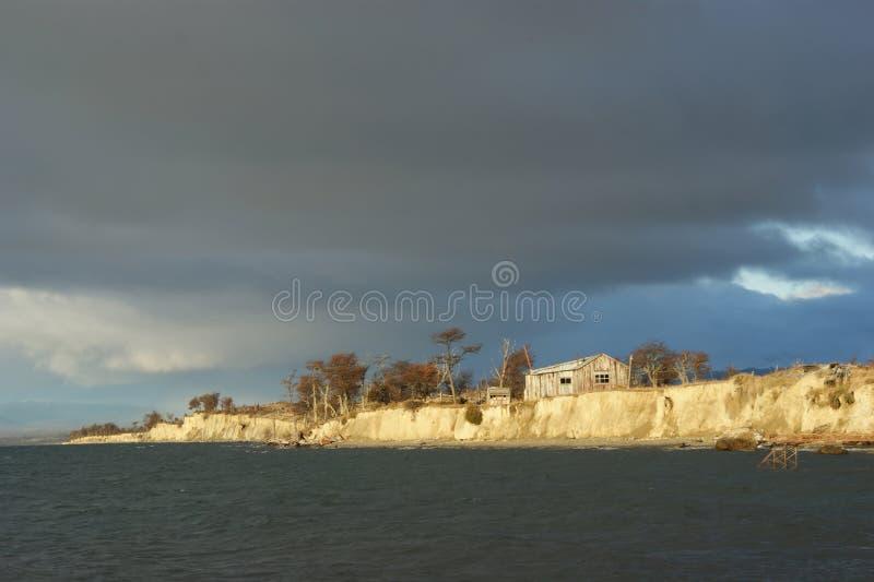 λίμνη fagnano στοκ εικόνες