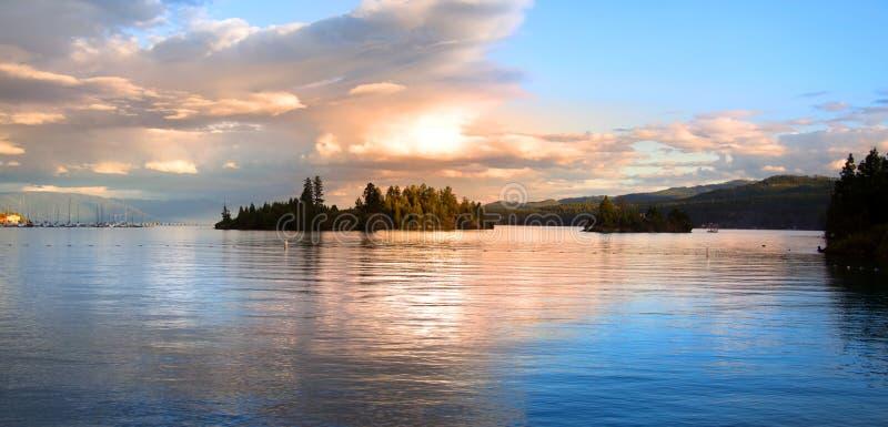 Λίμνη Flathead στοκ φωτογραφίες με δικαίωμα ελεύθερης χρήσης