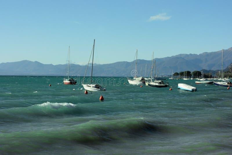 λίμνη garda στοκ φωτογραφίες με δικαίωμα ελεύθερης χρήσης