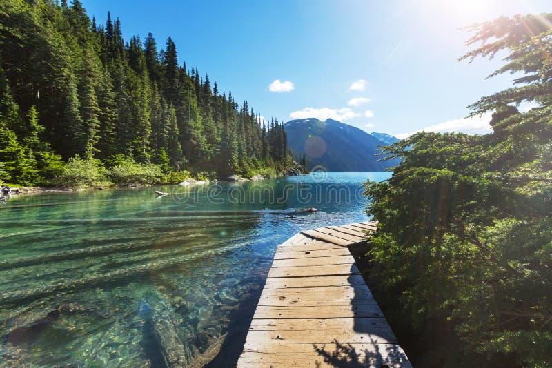 Λίμνη Garibaldi στοκ φωτογραφίες