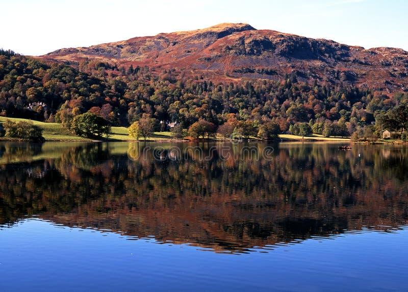 Λίμνη Grasmere, Cumbria στοκ φωτογραφία με δικαίωμα ελεύθερης χρήσης
