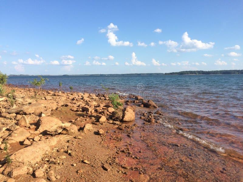Λίμνη Hartwell στοκ φωτογραφίες