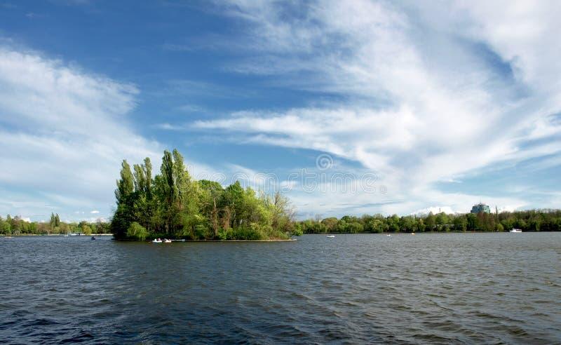 Λίμνη Herastrau στοκ εικόνα με δικαίωμα ελεύθερης χρήσης