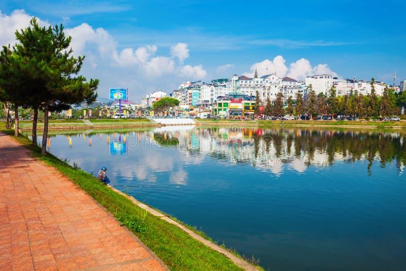 Λίμνη Huong Xuan σε Dalat στοκ φωτογραφία