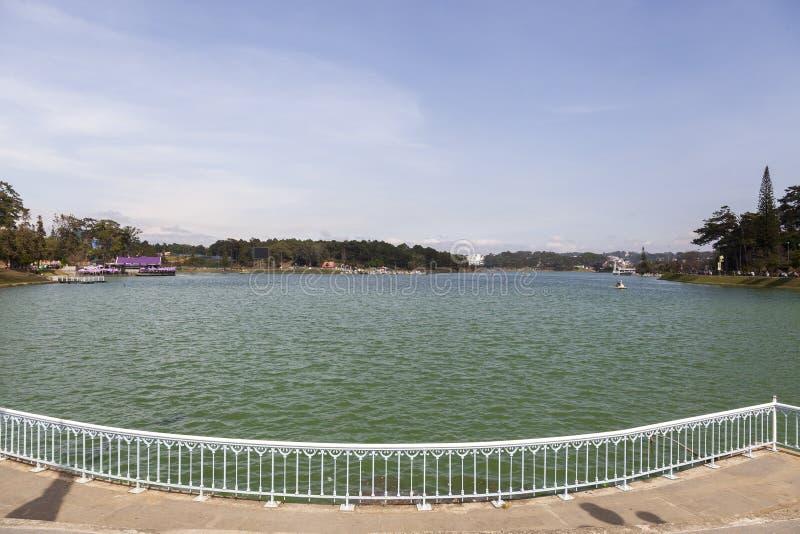 Λίμνη Huong Xuan στη DA Lat στο Βιετνάμ στοκ φωτογραφία