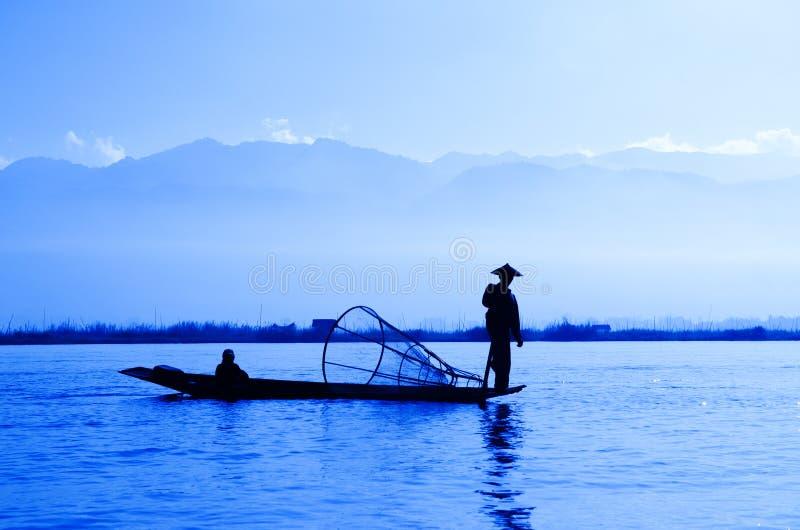 Λίμνη Inle, Myanmar στοκ φωτογραφίες