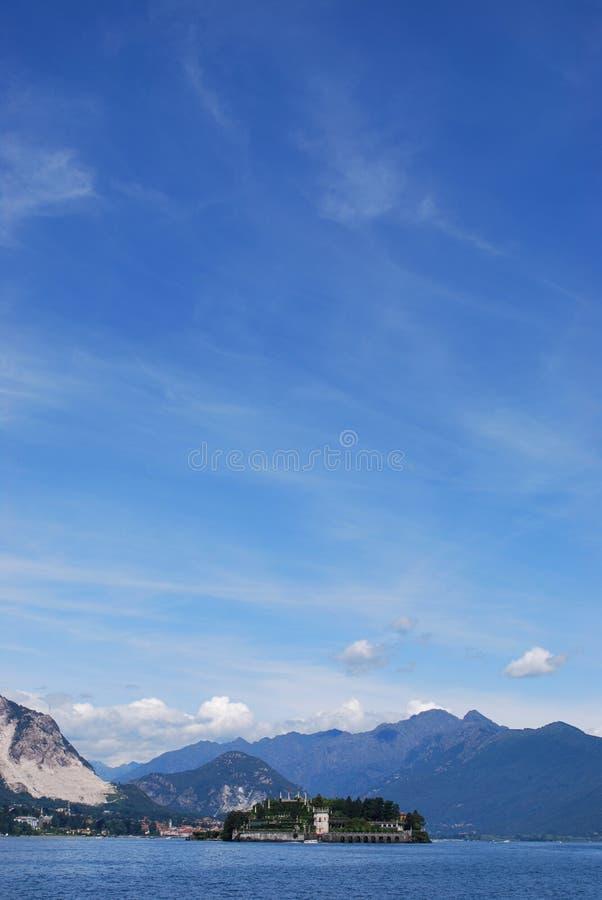 λίμνη isola bella maggiore στοκ φωτογραφίες με δικαίωμα ελεύθερης χρήσης