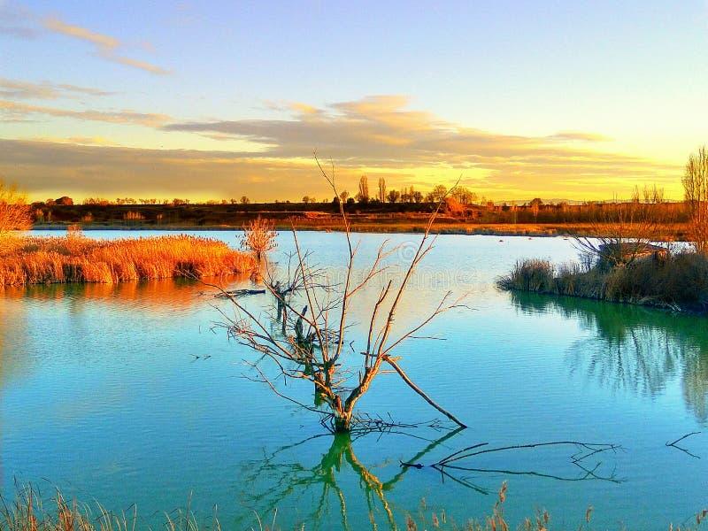 Λίμνη Ivars στοκ εικόνα με δικαίωμα ελεύθερης χρήσης