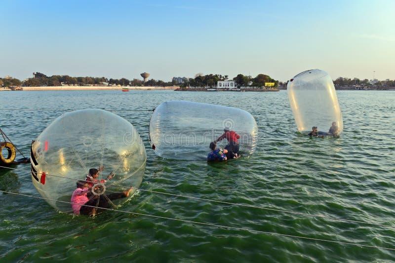 Λίμνη Kankaria του Ahmedabad στοκ φωτογραφίες με δικαίωμα ελεύθερης χρήσης