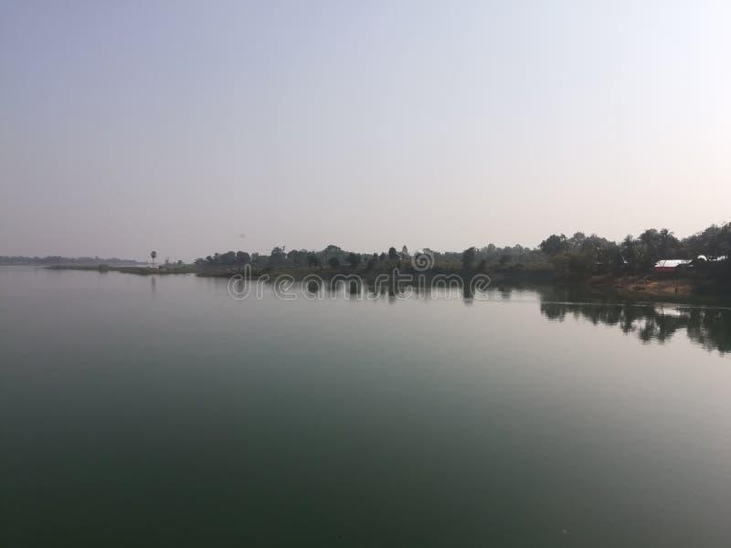 Λίμνη Kaptai στοκ φωτογραφία