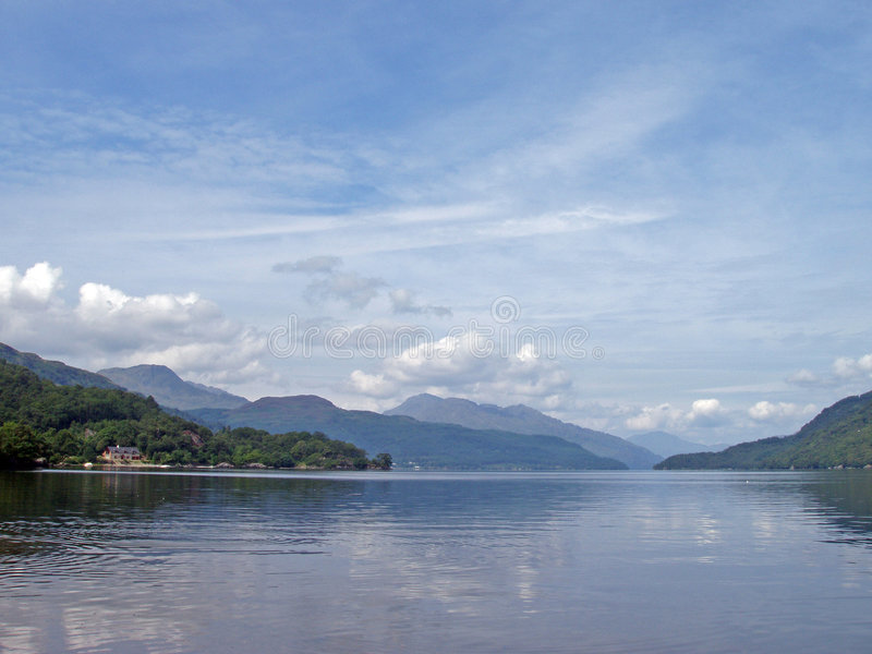 λίμνη lomond στοκ εικόνα με δικαίωμα ελεύθερης χρήσης