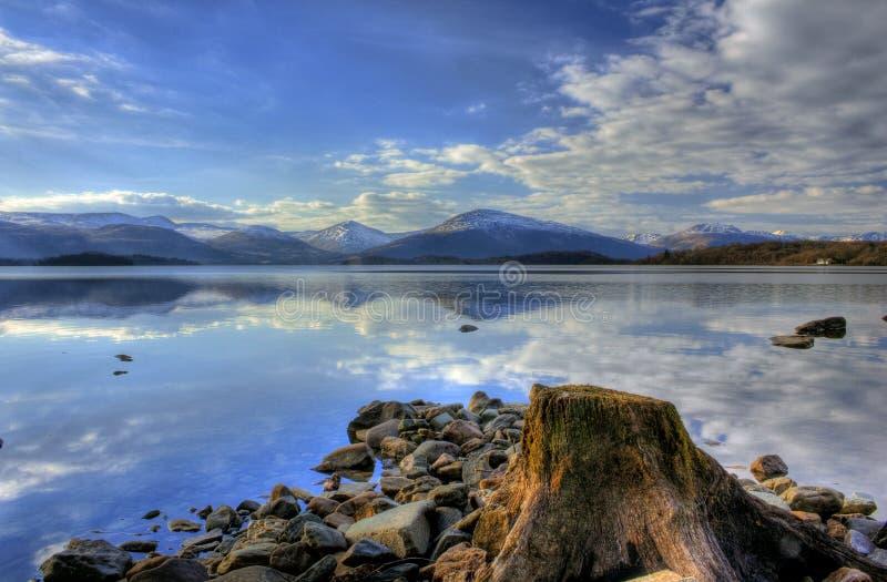 λίμνη lomond trossachs στοκ εικόνα με δικαίωμα ελεύθερης χρήσης