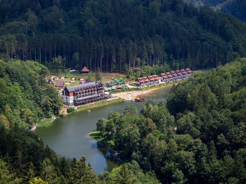 Λίμνη Lubachowskie, χαμηλότερη Σιλεσία, Πολωνία στοκ φωτογραφία με δικαίωμα ελεύθερης χρήσης
