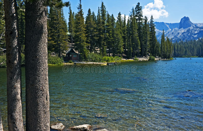 Λίμνη Mamie hideaway στοκ φωτογραφίες