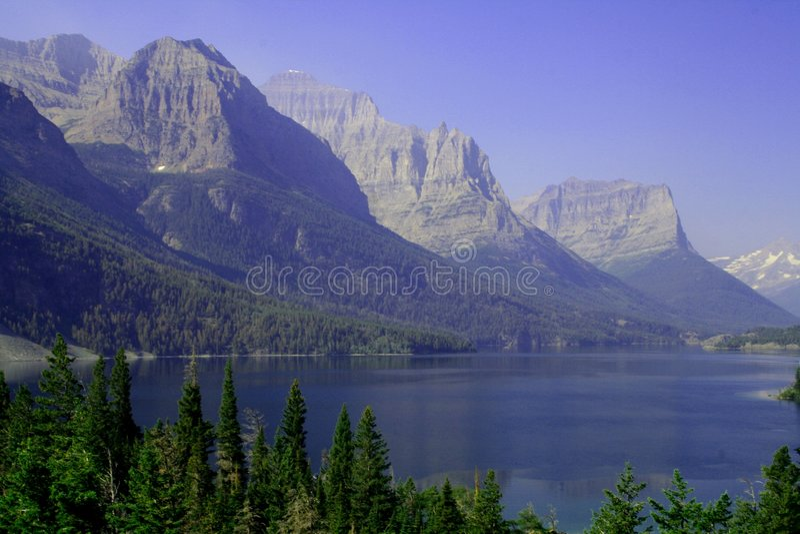 λίμνη Mary ST στοκ φωτογραφίες με δικαίωμα ελεύθερης χρήσης