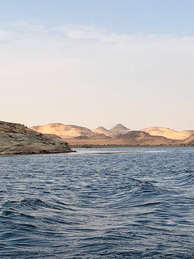 Λίμνη Nasser, Αίγυπτος στοκ φωτογραφία με δικαίωμα ελεύθερης χρήσης