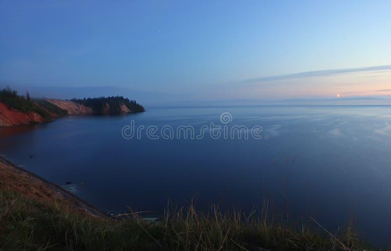 λίμνη onega Ρωσία στοκ εικόνες