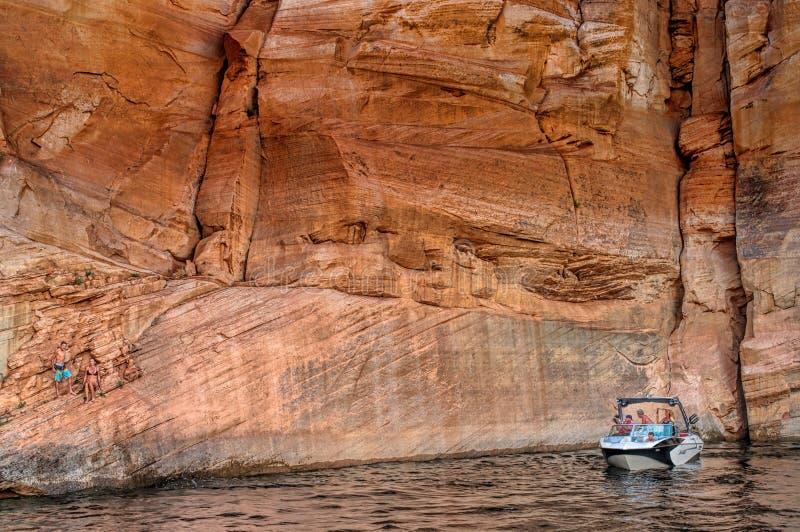 Λίμνη Powell στοκ φωτογραφία