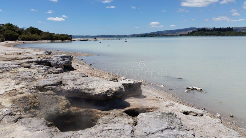 Λίμνη Rotorua στοκ φωτογραφίες με δικαίωμα ελεύθερης χρήσης