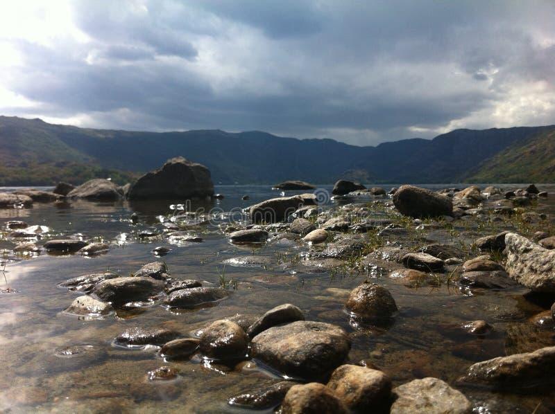 Λίμνη Sanabria στοκ φωτογραφία με δικαίωμα ελεύθερης χρήσης