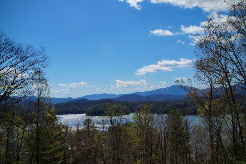 Λίμνη Santeetlah στοκ εικόνα