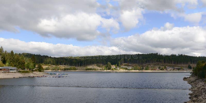 Λίμνη Schluchsee στο μαύρο δάσος, Γερμανία στοκ φωτογραφίες με δικαίωμα ελεύθερης χρήσης