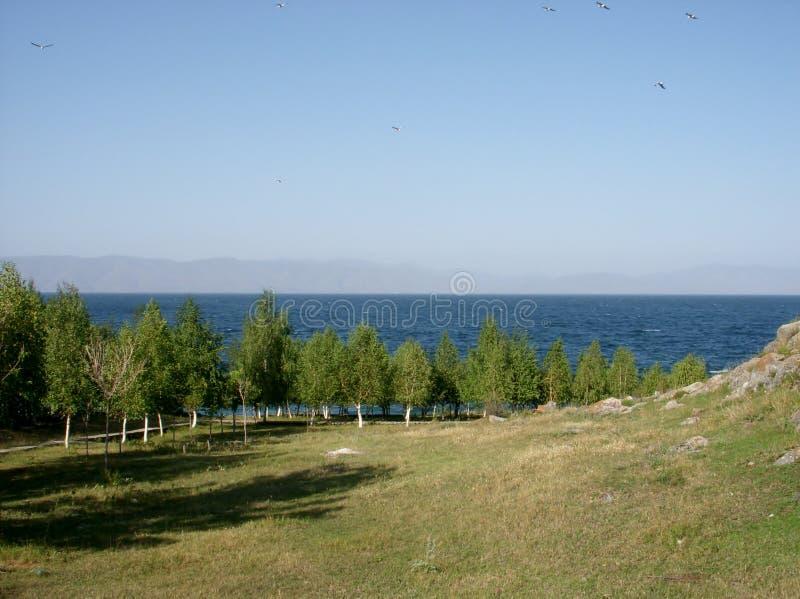 Λίμνη Sevan, Αρμενία στοκ φωτογραφία με δικαίωμα ελεύθερης χρήσης