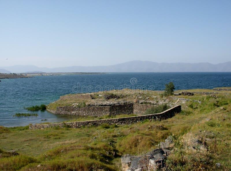 Λίμνη Sevan, Αρμενία στοκ εικόνες