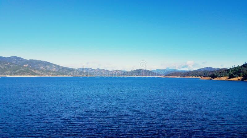 Λίμνη Shasta, Καλιφόρνια στοκ εικόνες με δικαίωμα ελεύθερης χρήσης