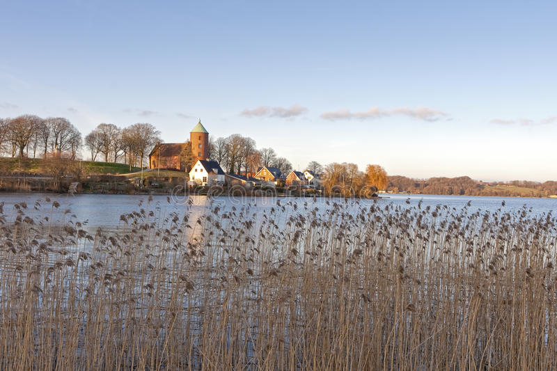 λίμνη skanderborg στοκ εικόνα με δικαίωμα ελεύθερης χρήσης