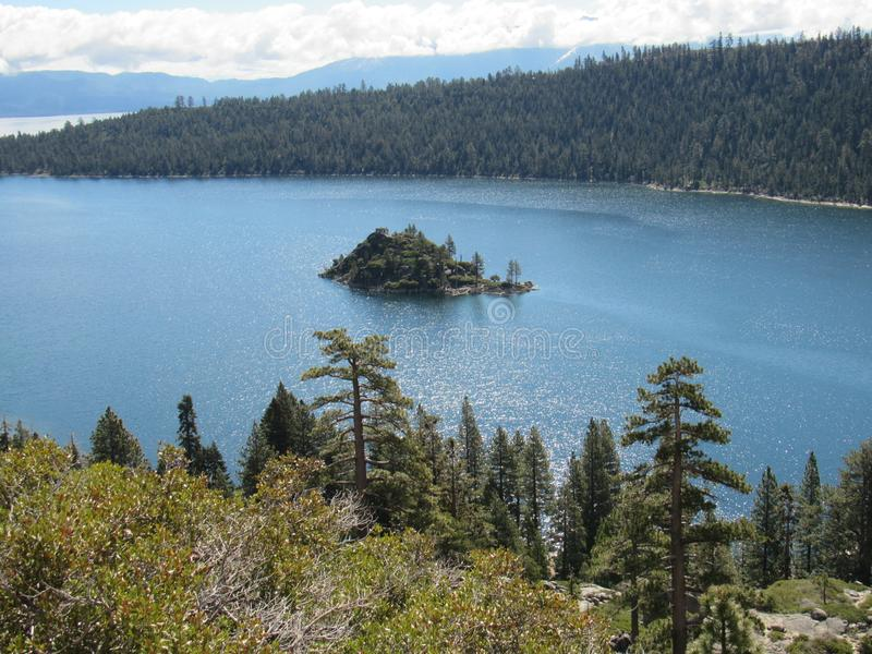 Λίμνη Tahoe, ασβέστιο στοκ εικόνα