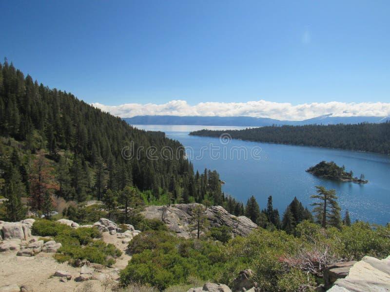 Λίμνη Tahoe, ασβέστιο στοκ φωτογραφία με δικαίωμα ελεύθερης χρήσης