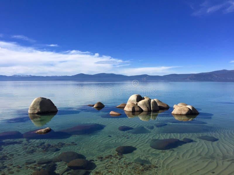 Λίμνη Tahoe, Καλιφόρνια, ΗΠΑ στοκ φωτογραφία