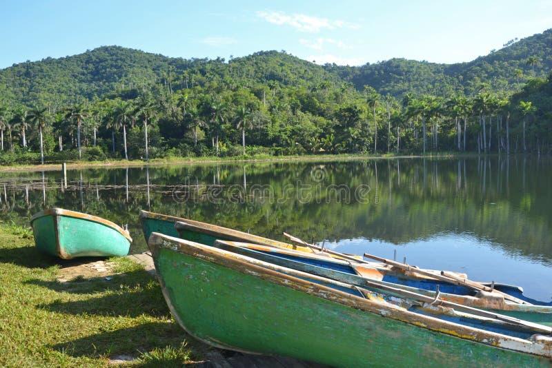 Λίμνη Terrazas Las στοκ φωτογραφίες με δικαίωμα ελεύθερης χρήσης