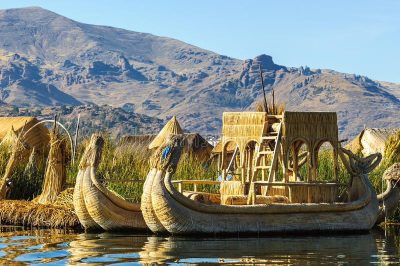 Λίμνη Titikaka, Περού στοκ φωτογραφία με δικαίωμα ελεύθερης χρήσης