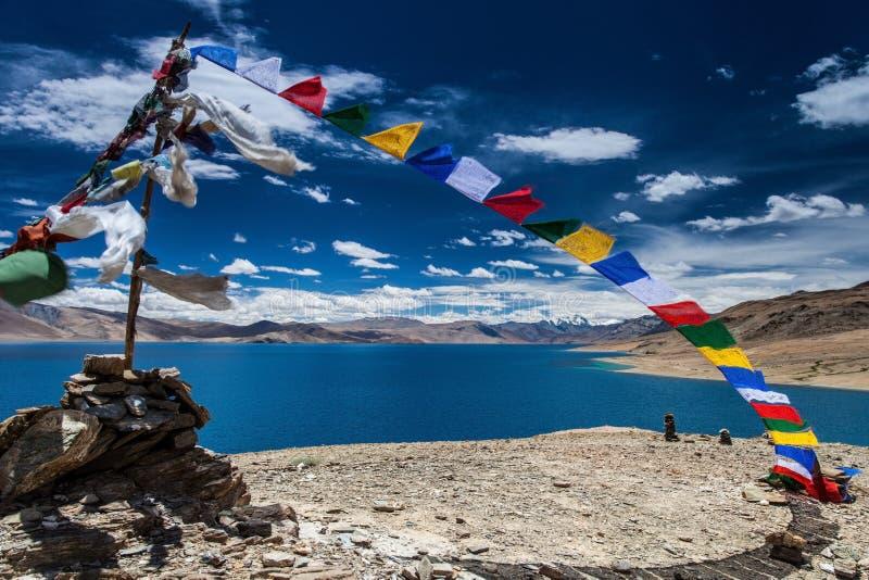 Λίμνη tso-Moriri στοκ φωτογραφίες με δικαίωμα ελεύθερης χρήσης